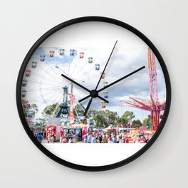 Funfair Wall Clock