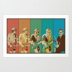 The Jam Transition Art Print