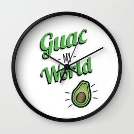 Guac My World Cinco de Mayo Wall Clock