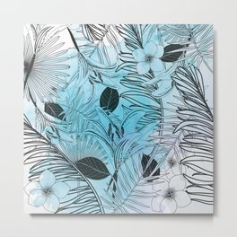 Modern Jungle Metal Print