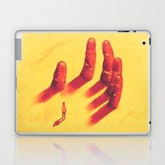 long fingers Laptop & iPad Skin