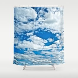 Clouds in the Sky - The Peace Collection Shower Curtain