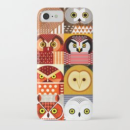 North American Owls iPhone Case
