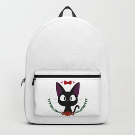 Little Black Cat Backpack