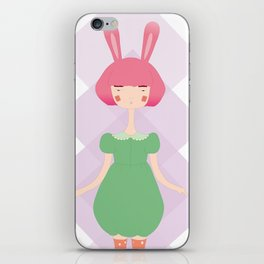 the bunny iPhone Skin