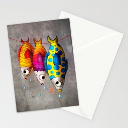 Fish Sale Stationery Cards
