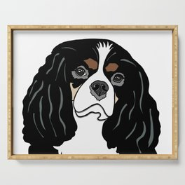 Daisy the Cavalier King Charles Spaniel Serving Tray