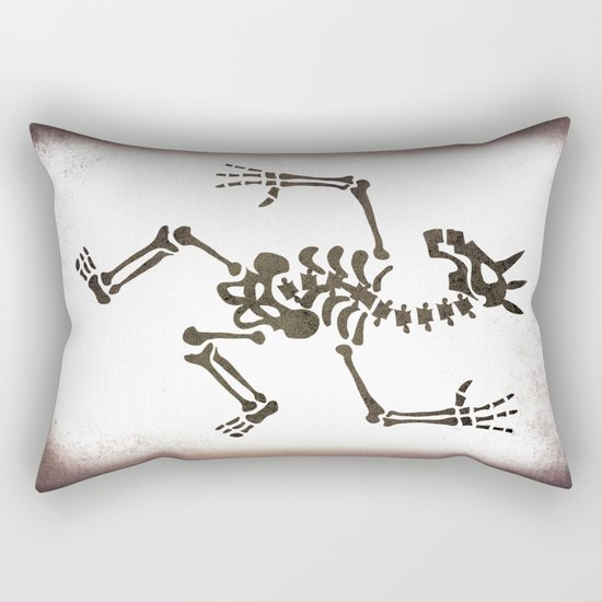 Skeleton Unicorn Dance 2 Rectangular Pillow