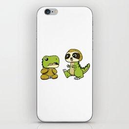 Dino-Sloth iPhone Skin