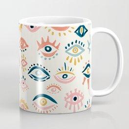 Mystic Eyes – Primary Palette Coffee Mug
