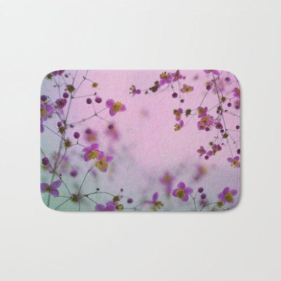 Vintage Little Flowers Bath Mat