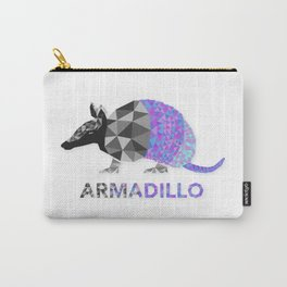 Angular Armadillo Carry-All Pouch