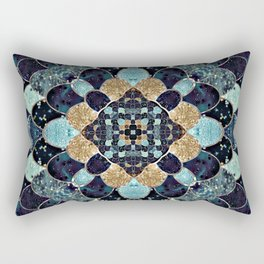 REALLY MERMAID - MYSTIC BLUE Rectangular Pillow