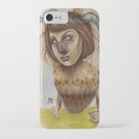 beastie boys iPhone & iPod Cases featuring Beastie by busymockingbird