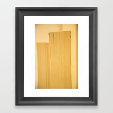 book without a book Framed Art Print