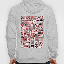 """""""Childhood Memories"""" pixel art poster Hoody"""
