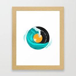 Photo Wave Framed Art Print