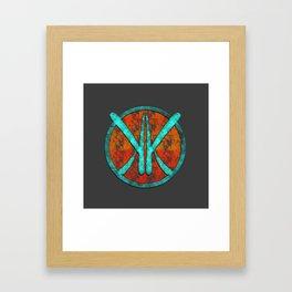 KingKittan Logo Framed Art Print