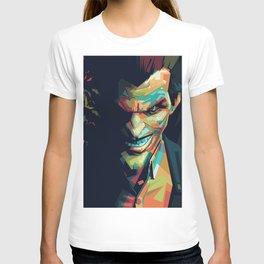 Joker Pop Art Portrait T-shirt