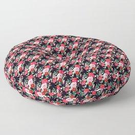 Vampire Weekend Floral Pattern Floor Pillow
