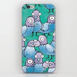Pigeon Crowd iPhone Skin
