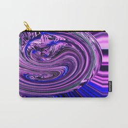BLUE PURPLE ABSTRACTION Carry-All Pouch