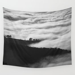 Hills of Mystery Wall Tapestry