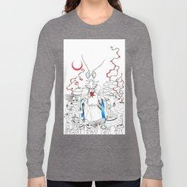 Praying Mantee Long Sleeve T-shirt