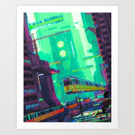 SYD CITY (everyday 03.16.19) Art Print