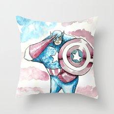 Cpt. Throw Pillow