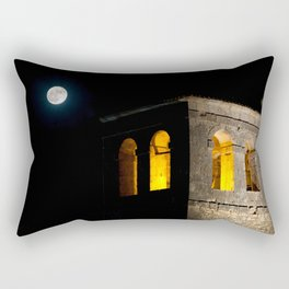 Church & moon Rectangular Pillow