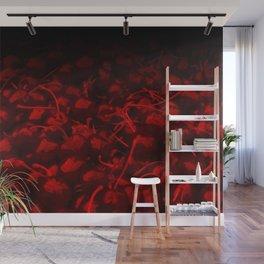 cherries pattern hvhddr Wall Mural