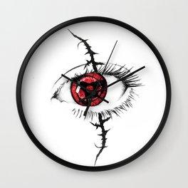 Sharingan Eyes Wall Clock