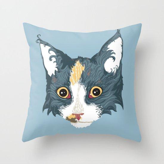 Catatonia Throw Pillow