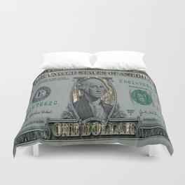 The Golden Dollar Duvet Cover