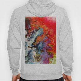 Abstract fire Hoody