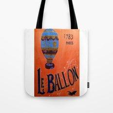 Le Ballon 1783 Tote Bag