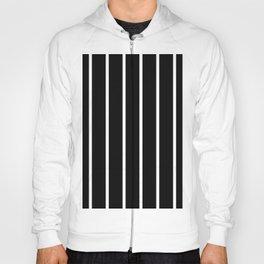 Vertical Lines (White & Black Pattern) Hoody