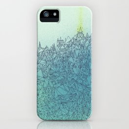 A Quiet Raft iPhone Case