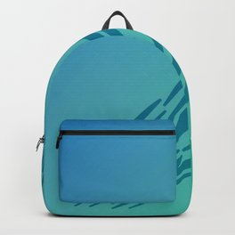 Lines, exotico Blue elements Backpack