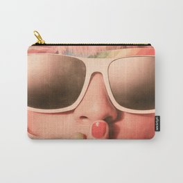 I Wear My Sunglasses at Night Carry-All Pouch