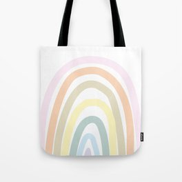 my own pastel rainbow Tote Bag