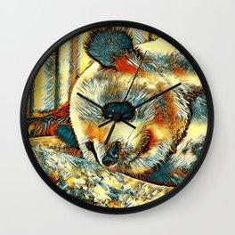 AnimalArt_Panda_20170810_by_JAMColors Wall Clock