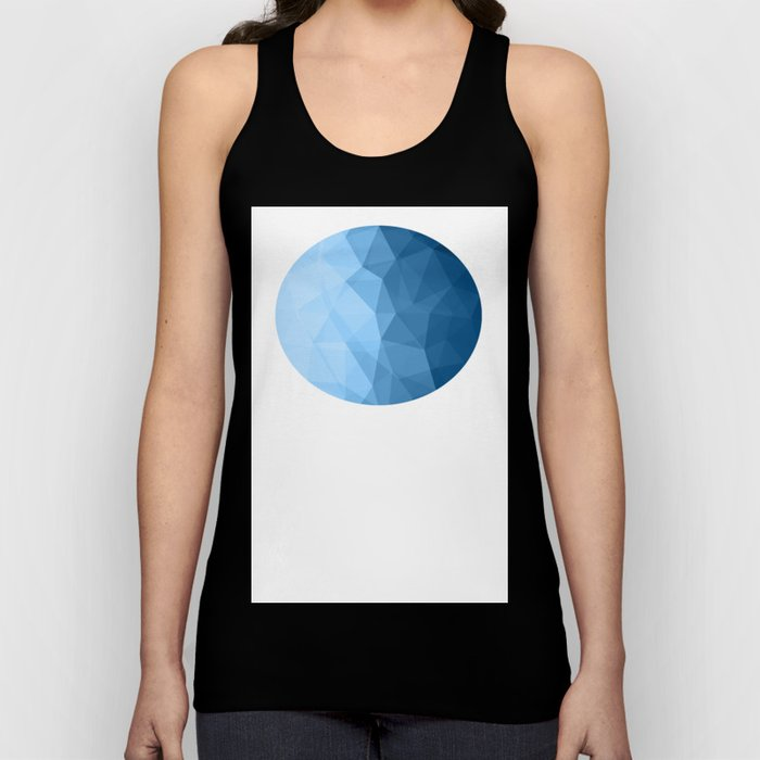 Geometric Polygonal Pattern 03 Unisex Tank Top