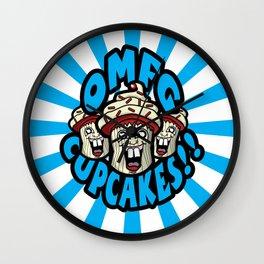 OMFG CUPCAKES! Wall Clock