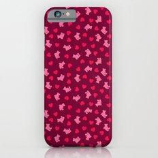 Teddies and hearts iPhone 6s Slim Case