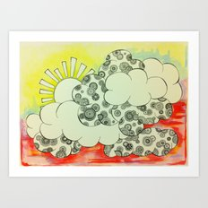 Lush Sunshine Art Print