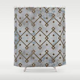 Southwestern Tribal Design Pattern Shower Curtain