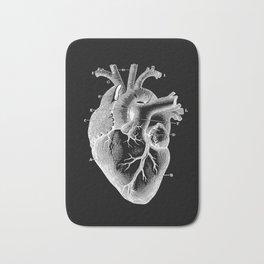The Human Heart Bath Mat