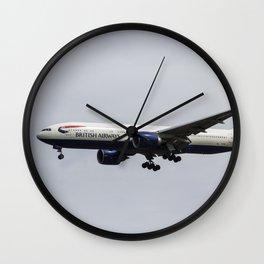 British Airways Boeing 777 Wall Clock